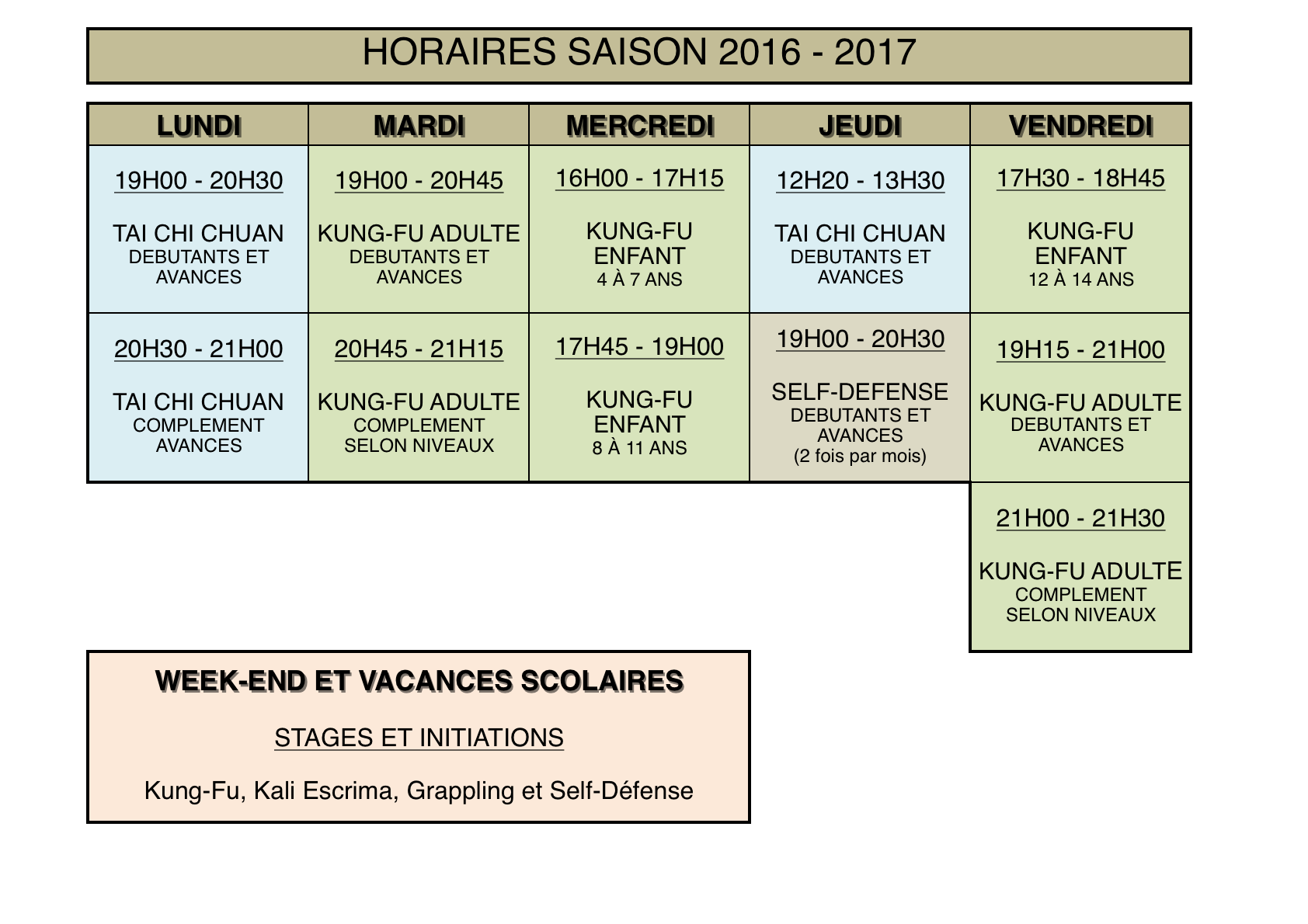 HORAIRES 2016 2017 PNG