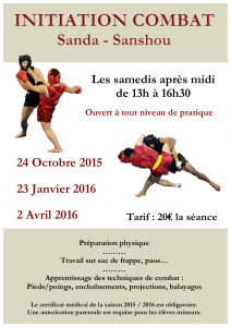 AFFICHE sanda nouvelle version